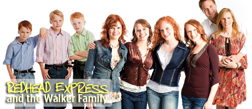 Redhead Express & the Walker Family